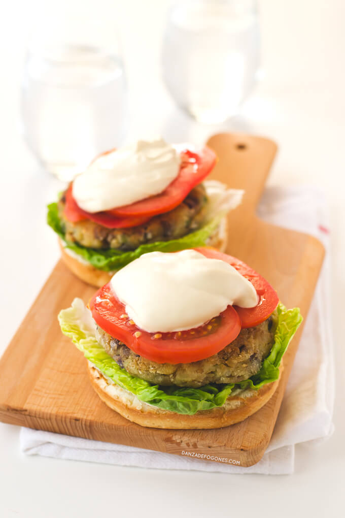 Vegetable Burgers | danceofstoves.com