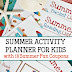 Summer Activities for Kids Planner & Coupon Book