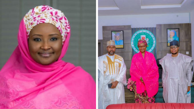 """When you get there appoint your enemies """"Kebbi First Lady reacts to comment of her husband appointing family members as commissioners"""