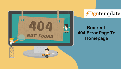 How to Redirect 404 Error Page Automatically to Homepage