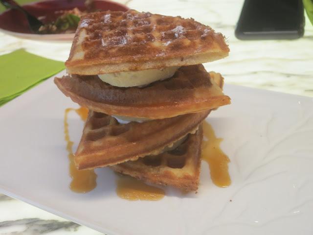 Durian Waffle