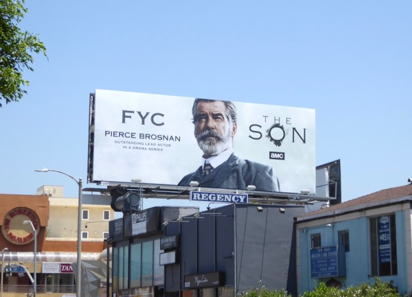 Pierce Brosnan Son Emmy FYC billboard