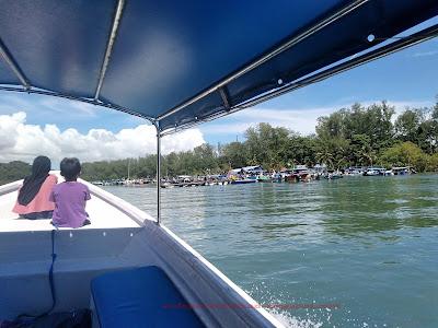 kembali ke jeti Tanjung Rhu