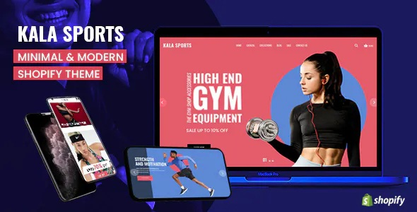 Best Sports Mobile Optimized Responsive Shopify Theme