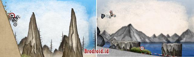 Download Stickman Downhill - Motocross Mod Apk Unlocked Terbaru