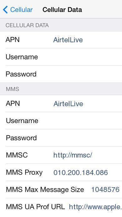 By Photo Congress || Airtel Apn Settings Username And Password