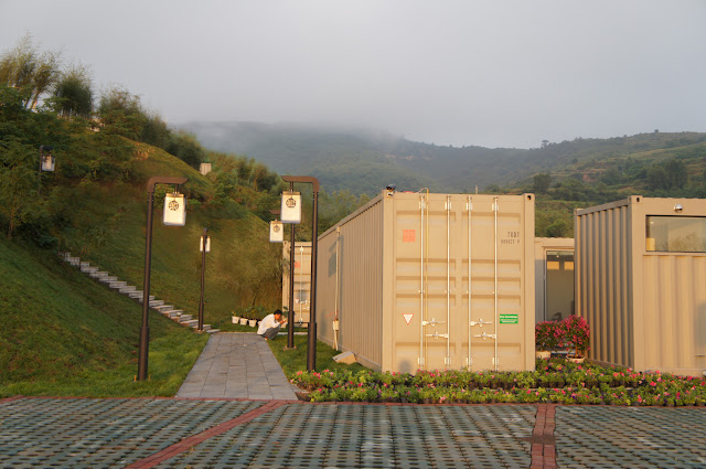 Boutique Hotel Built from Shipping Containers, China 18