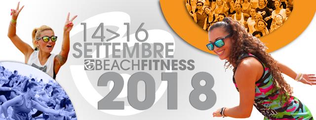 Bibione Beach Fitness, dal 14 al 16 settembre 2018 a Bibione, Venezia