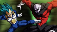 Vegeta Kick in Jiren's Gut