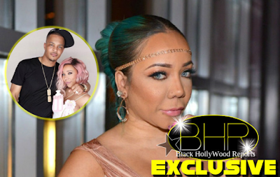 "Tiny Harris Shares First Photo Of Newborn Baby ""Heiress"""