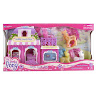 MLP Sparkleworks Playsets Cotton Candy Cafe Bonus G3 Pony