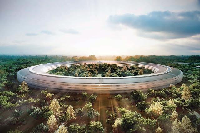 Apple Park menor consumo energético