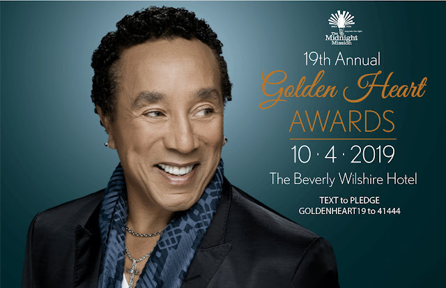 Smokey Robinson to be honored at The Golden Heart Awards by The Midnight Mission