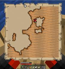 Cara menemukan treasure map di minecraft