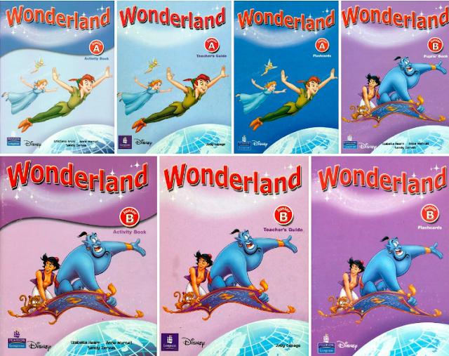 Wonderland  ( Pre-Junior +  Junior A +  Junior B )
