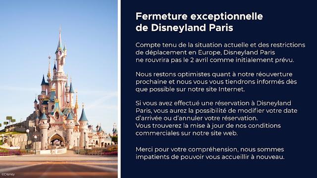 巴黎迪士尼樂園度假區 安排更新(2021年3月12日), Arrangement Updates of Disneyland Resort Paris (March 12, 2021)