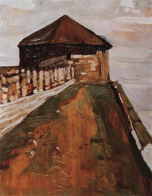 Николай Рерих - Нижний Новгород. Строжевая башня. 1903