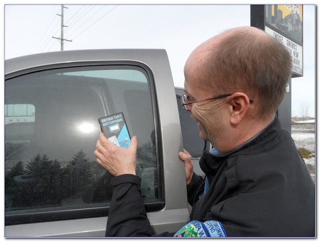 WINDOW TINT Meters For Law Enforcement