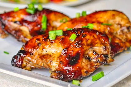 DELICIOUS HONEY SOY CHICKEN BREASTS