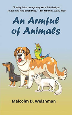 an-armful-of-animals, malcolm-welshman, book, blog-tour