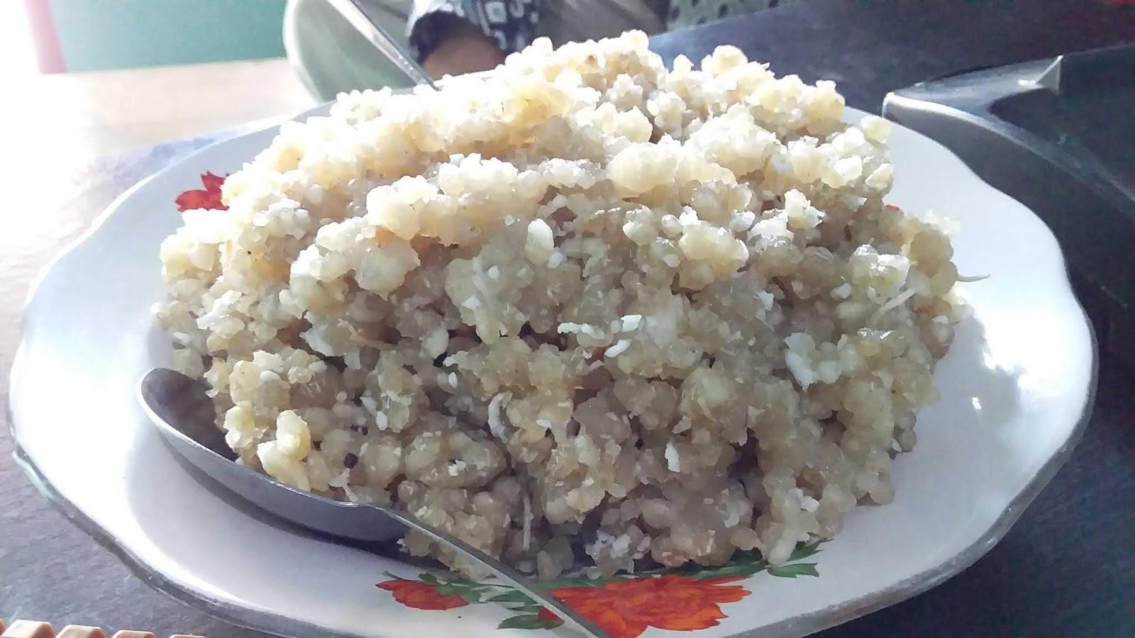 Proses Pembuatan Nasi Inter Berbahan Dasar Singkong