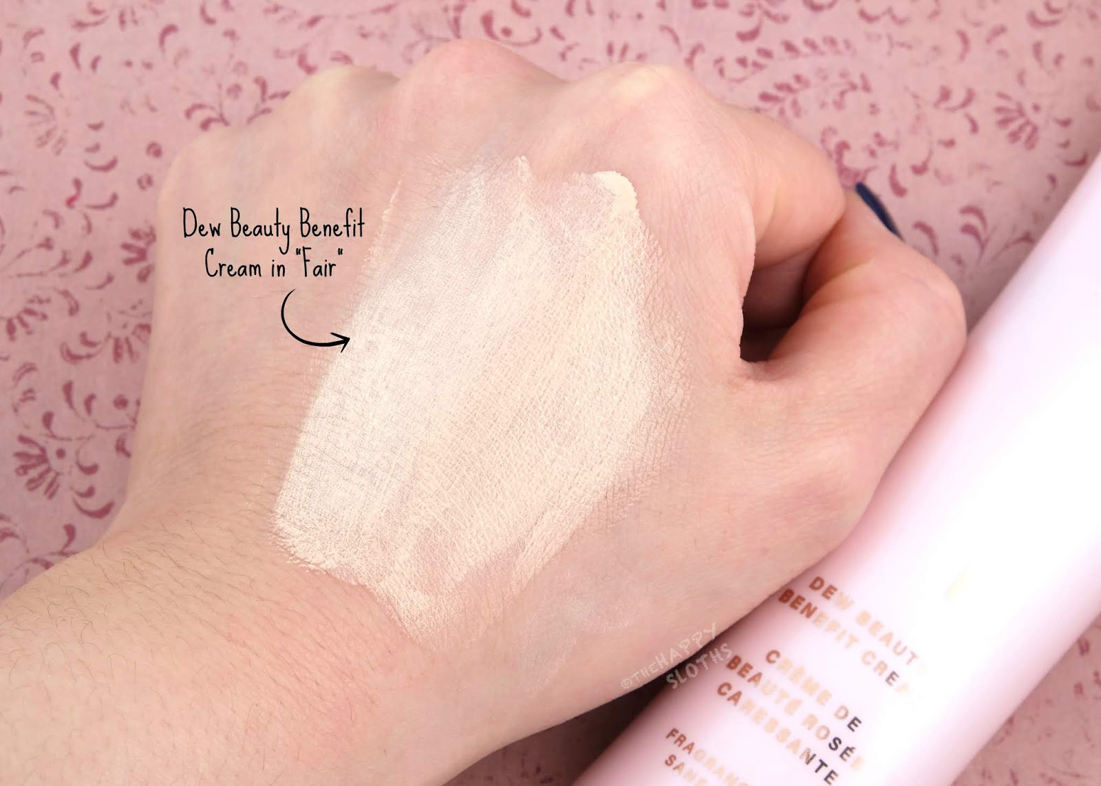 "Evalina Beauty | Dew Beauty Benefit Cream in ""Fair"": Review and Swatches"
