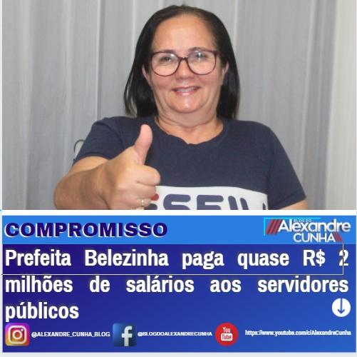 Chapadinha: Salários dos servidores em dias é fruto de uma administração comprometida e responsável.