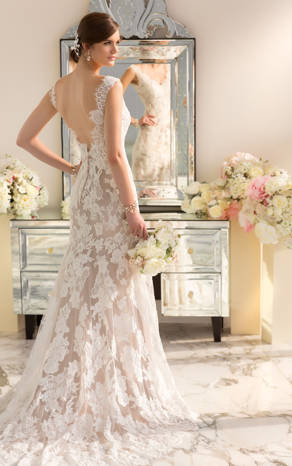 Modern Vintage Wedding Dresses Essense Of Australia Regarding Vintage Wedding Dresses Online