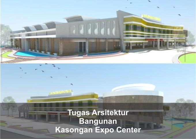 Tugas Arsitektur Desain Kasongan Expo Center