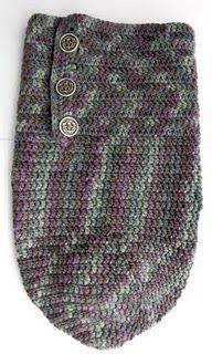 Crochet Baby Cocoon