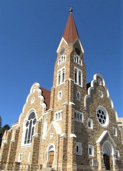 iglesia de Cristo qué ver en Windhoek