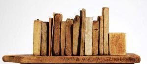 Alberto Asprino  De la serie EQUINOCCIO. 20 X 9 X 16,5 Ctms. 2002.