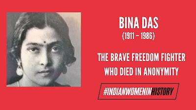 Bina Das India Brave Girl