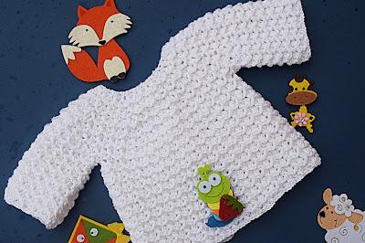 1 - Crochet Imagen Chambrita a crochet muy fácil y sencilla por Majovel Crochet