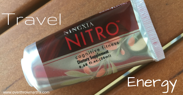 Essential oils for energy and travel