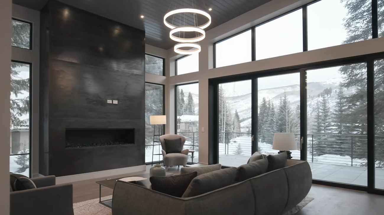 17 Photos vs. 4872 Meadow Lane, Vail, Colorado Mountain Modern New Construction Home for sale - Luxury House & Interior Design Video Tour