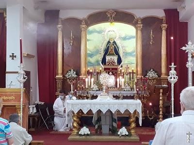 Los hermanos de Juncal de Sevilla suspenden la salida procesional de la Virgen prevista para el 12 de septiembre