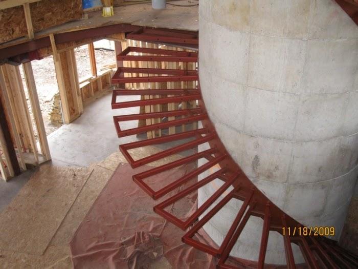 Steel Work Unknow Building