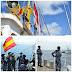 Bertemu Kapal Patroli Lantamal XIV, Taruna Satlat KJK 2020 Terlibat Latihan Bersama