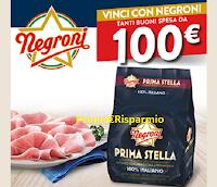 Logo Concorso ''Vinci con Negroni '' : 50 buoni spesa da 100€ in palio