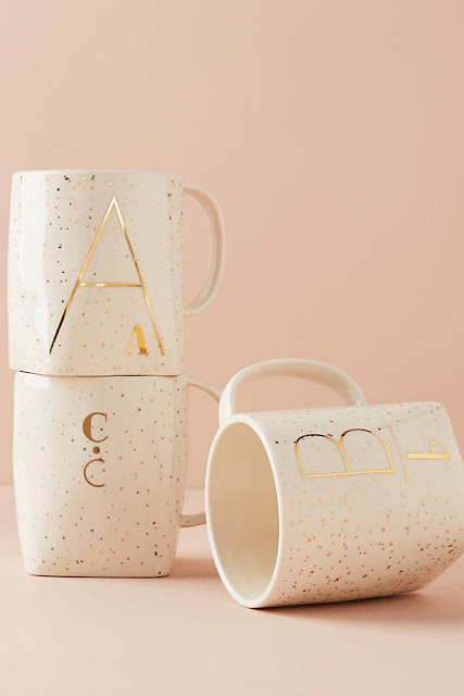 Warm and Cozy Winter Home Decor Monogram mug
