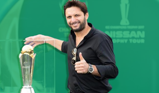 Shahid Afridi ICC champions trophy 2017