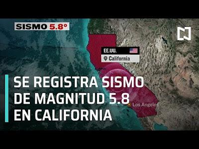 SISMO CALIFORNIA 24 DE JUNIO 2020
