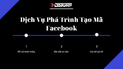 Dịch Vụ Phá Trình Tạo Mã Facebook , Phá pass bảo mật 2 yếu tố