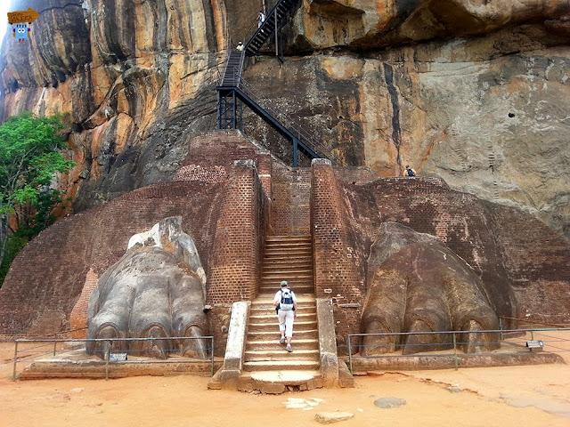 Garras de león - Sigiriya
