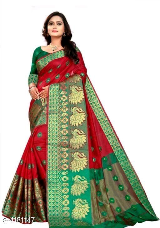 Nia Attractive Cotton Silk Women's Sarees