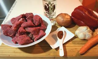 ternera guisada vodka carne vaca receta