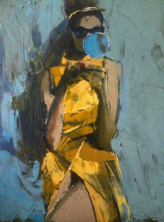 Art of the Day - Fanny Nushka Moreaux
