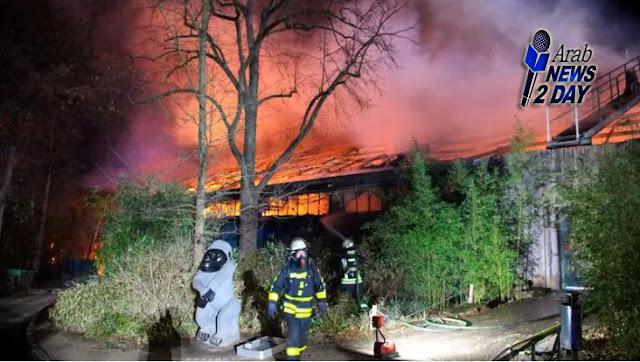 حريق يقتل أكثر من 30 حيوان في حديقة الحيوانات في ألمانيا الغربية ArabNews2Day