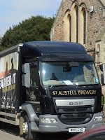 St.Austell brewery lorry